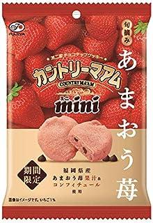 不二家 カントリーマアムミニ(旬摘みあまおう苺) 47g ×10個