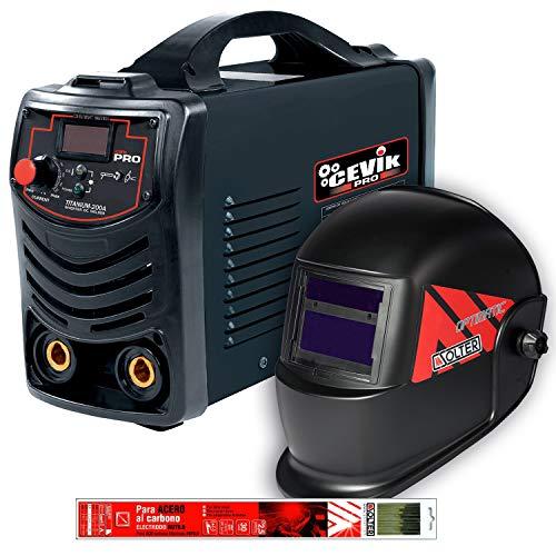240 V Rojo malet/ín 8 W Solter 04254 Inverter COTT 195 SD Superboost