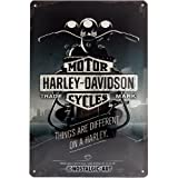 Nostalgic-Art Harley-Davidson – Things Are Different –