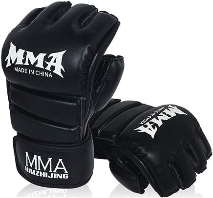 BAIEPING MMA-Handschuhe, Sparring-Käfig-Kampfhandschuh, für Kampfsport, Muay Muay Muay Thai, Boxen, Sandsäcke Schlagen, UFC Kampftraining, Lederhandschuhe B07HC4NB67     | Haltbar  d5b471