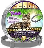 Tratamiento-antipulgas-para-Gatos, Ajustable pequeño-Mediano-Grande, 8-Meses-Repelente-de-garrapatas&piojos para Gatitos, Protección Impermeable para el Tratamiento de Las pulgas para Mascotas