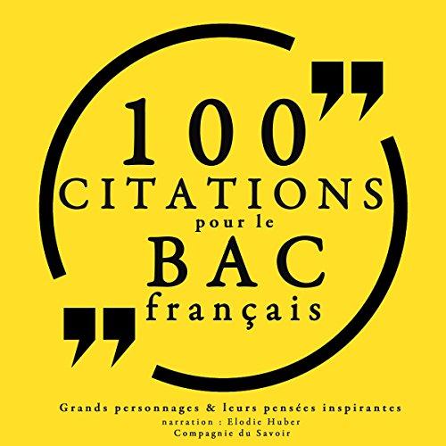 100 citations pour le bac français Titelbild