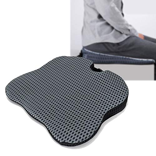 Moozic Premium Orthopaedic Seat Wedge Posture Seat Cushions for Pressure relief for Home, Office, Car, Wheelchair,Gray
