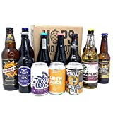 Hops and Shots Craft Beer and Craft Cider Selection Case x 12 Pack. The Perfect Connoisseur Craft Beer