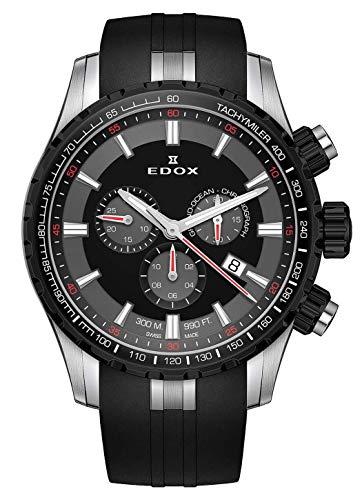 EDOX herenhorloge Grand Ocean chronograaf datum analoog kwarts 10226 357NCA NINRO