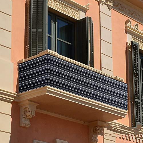 YUDEYU Los 0.9 * 5m Tela De Sombra Impermeable Personalizable Balcón De Protección Solar Cerca A Prueba De Viento Anti-privacidad