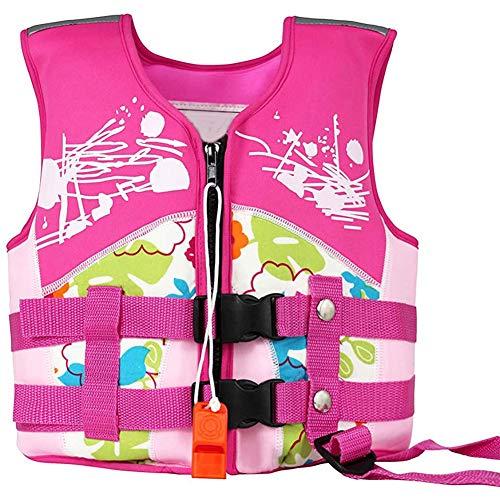 beijieaiguo Kinder-schwimmweste Folat Jacke Kinder Schwimmweste Schwimmweste Für Driften Rosa Schwimm Bademode Schwimmdock Jacke Für Mädchen Jungen Schwimmen Lernen L Größe
