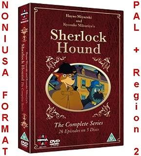 Sherlock Hound - Complete Series - 5-DVD Box Set ( Meitantei Holmes ) ( Sherlock Hound, the Detective ) [ NON-USA FORMAT, PAL, Reg.2 Import - United Kingdom ]