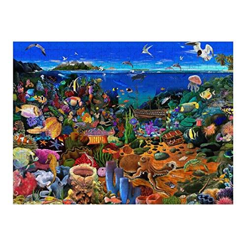 XIAOXINGXING 1000 Piezas Jigsaw Piezas Jigsaw Puzzle Arrecife mágico para Infantiles Adolescentes Juego de Rompecabezas