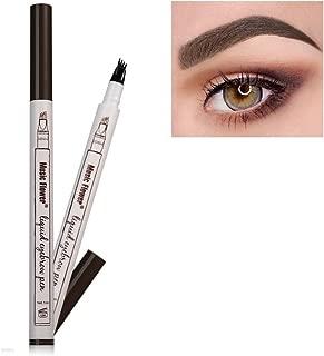 Frola New Waterproof/Smudge-proof Eyebrow Pencil Long-lasting Brow Gel for Eyes Makeup (#1Chestnut (Dark brown))