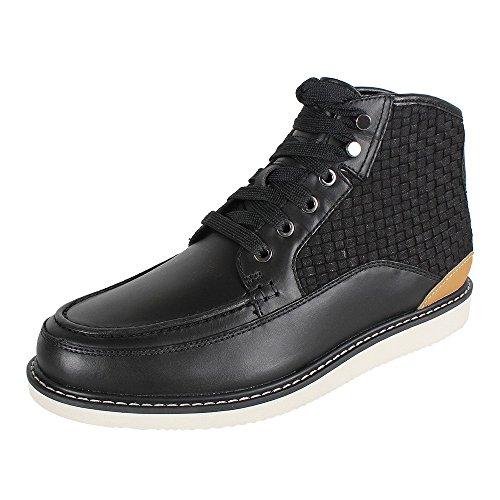 Timberland Newmarket Leather VA A17AE Herren Boot schwarz, Größe:44.5
