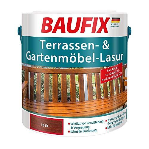 BAUFIX Terrassen- und Gartenmöbel-Lasur Teak