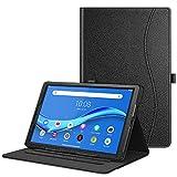 Fintie Funda para Lenovo Tab M10 FHD Plus - Tablet de 10.3' [Multiángulo] Carcasa con Bolsillo Función de Soporte y Auto-Reposo/Activación, Negro