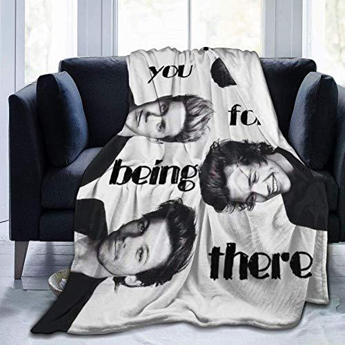 Yaxinduobao Ultra-weiche Micro-Fleece-Decke in Einer Richtung Wirf eine gemütliche, weiche Sherpa-Decke zum Nickerchen, Couch Chair, Wohnzimmer 40 'x 50'