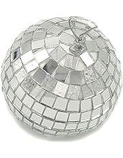 4x Bolas de Espejos de 7 cm, Bola de Discoteca decoración.