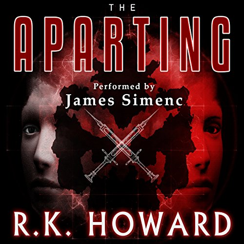 The Aparting audiobook cover art