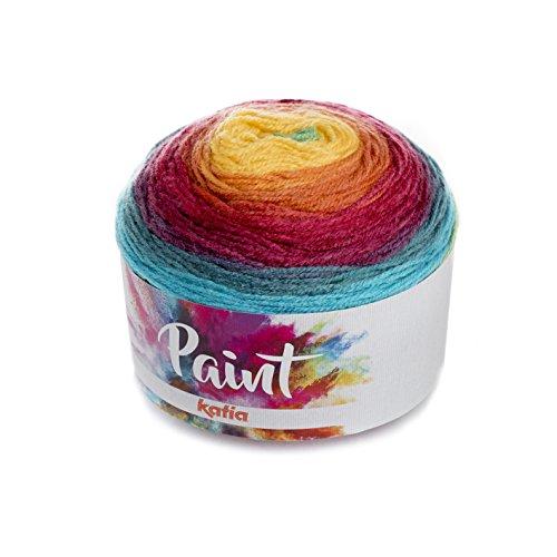 Katia Paint – Color: 65 – 150 g/aprox. Bobbel - Bobbel (acrílico, 540 m)