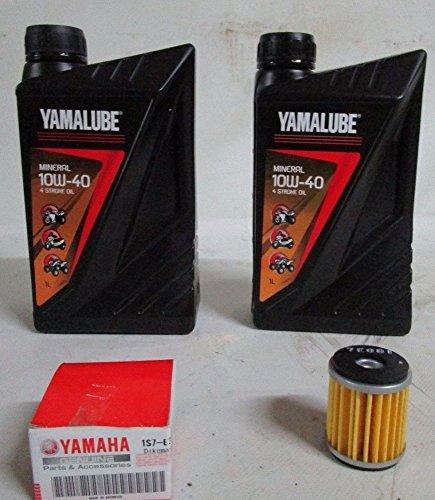 Kit de revisión Yamalube y filtro de aceite Yamaha para X-Max 300