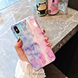 Cocomii Holographic Marble iPhone 6S/6 Case, Slim Thin Glossy Soft Flexible TPU Silicone