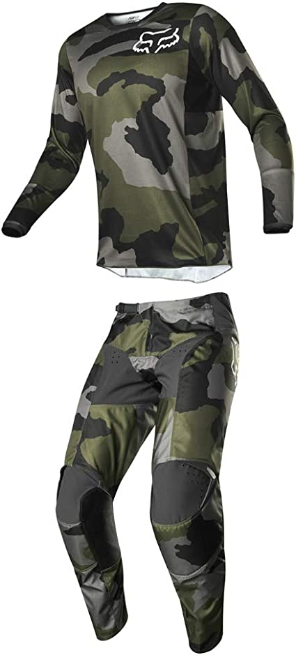 Fox 2019 180 Przm Navy//Yellow Jeans//Shirt Set SALE 34//36