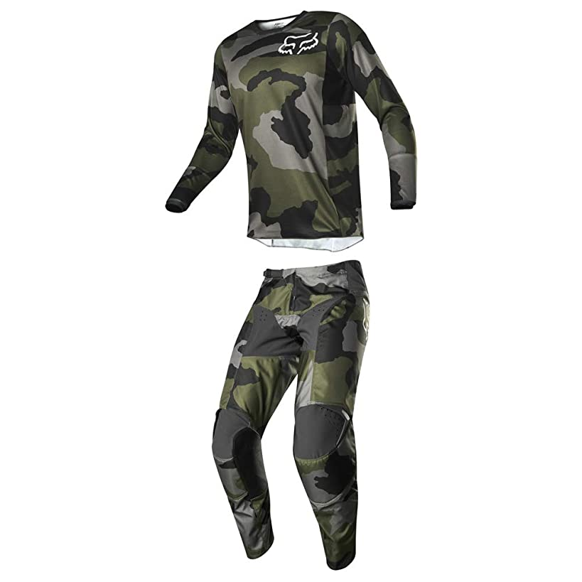 Fox Racing 2019 Men's 180 PRZM Special Edition Camo Jersey Small and Pants 28 Combo