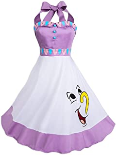 beauty and the beast smocked dress
