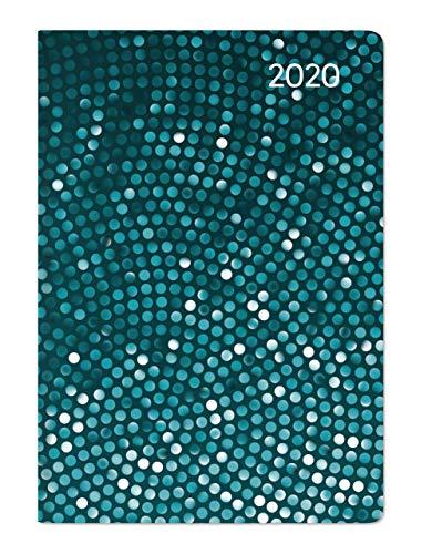 Ladytimer Mini Pailette 2020 - Taschenplaner - Taschenkalender (8 x 11,5) - Weekly - 144 Seiten - Notizbuch - Terminplaner