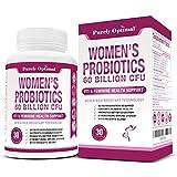 Premium Probiotics for Women - 60 Billion CFU, Dr. Formulated Prebiotics and Probiotics for Women, D-Mannose, ProCran - Digestive, Immune & Vaginal Health Supplement - Shelf Stable, One a Day, 30 Caps