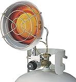 DuraHeat TT-15S Single Burner Tank Top Heater 15000 BTU 1000 SqFt Liquid Propane