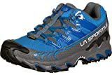 LA SPORTIVA Ultra Raptor Woman GTX, Zapatillas de Trail Running Mujer, Steel/Azure, 38.5 EU