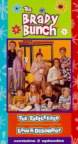 Brady Bunch 2: Tattletale & Law & Disorder [VHS]