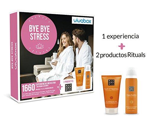 VIVABOX Caja Regalo -Bye Bye Stress- 1.660 Actividades. Incluye un Regalo
