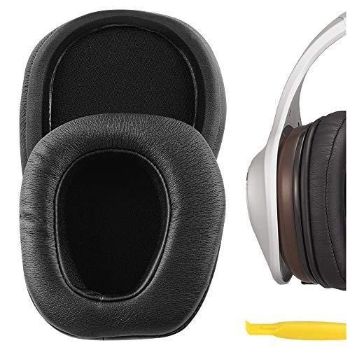Geekria QuickFit - Almohadillas de piel proteica para auriculares...