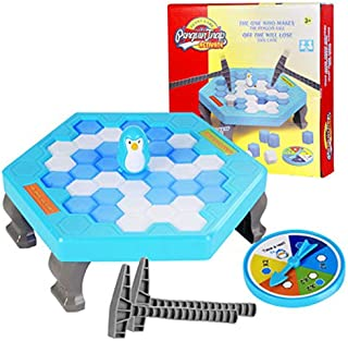 MINGXIAO Pequeño Pingüino Trampa Bloque Toys Ice Breaker Game Party Toy para niños niñas Juegos interactivos