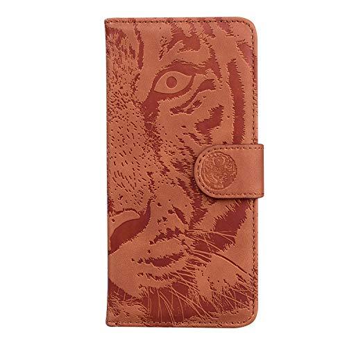Coque pour Xperia 10 Plus Housse, Etui en Cuir PU Portefeuille Coque avec Fente Carte, Fermeture Magnétique und Flip Béquille pour Sony Xperia 10 Plus - JETX010660 Marron