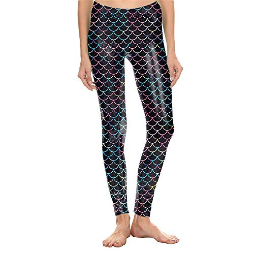Beenwarmers dames 2019 mode performance digitale print 3D kleding visladder leggings Mermaid yoga broek sport fitness dames