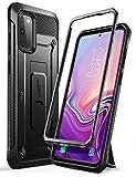 SUPCASE Outdoor Hülle für Samsung Galaxy S20 Handyhülle Bumper Hülle Rugged Schutzhülle Cover [Unicorn Beetle Pro] 6.2 Zoll OHNE Bildschirmschutz mit Gürtelclip & Ständer 2020 Ausgabe, Schwarz