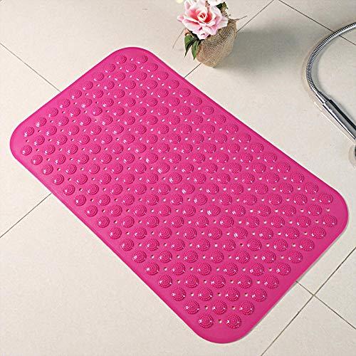 Ningde Vierkante badmat PVC-rubber douchemat anti-schimmel antislip met zuignappen anti-slip met zuignappen machinewasbare massage badkuipmatten