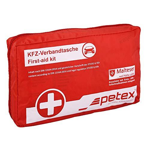 KFZ Verbandtasche Rot nach DIN 13164-2014