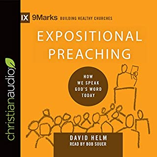 Expositional Preaching: How We Speak God's Word Today audiobook cover art