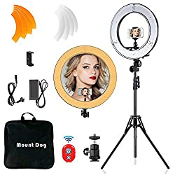 ring light for video bloggers