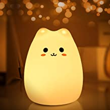 Night Lights for Kids, MOKOQI Baby Night Light Lamp for Bed [ BPA-Free Silicone, Breakage Resistant, Eye Caring LED, Muilt...