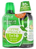 Milical Draineur Ultra Lot de 2 x 500 ml - Thé vert/Pêche