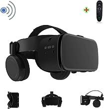 هدست واقعیت مجازی واقعیت مجازی سه بعدی با بلوتوث از راه دور بی سیم ، عینک VR برای فیلم ها