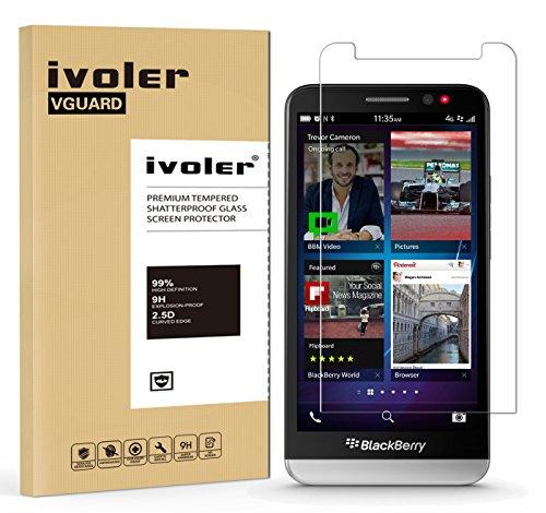 ivoler [2 Stücke] Panzerglas Schutzfolie für Sony Xperia Z5 Compact [9H Festigkeit] [Anti- Kratzer] [Bläschenfrei] [2.5D R&e Kante]