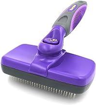 Hertzko خود تمیز کردن Slicker Brush