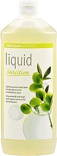 SODASAN LIQUID sensitive Bio Seife 1 Liter - ökologisch und umweltfreundlich Flüssigseife bio