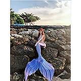 RKRCXH Traje De Baño De Las Niñas Sirena Sirena De Cola Apta...