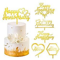 anniversary gift ideas for extra special parents | anniversary cake toppers - Charmerry