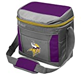 Coleman NFL Soft-Sided Insulated Cooler Bag, 16-Can Capacity, Minnesota Vikings
